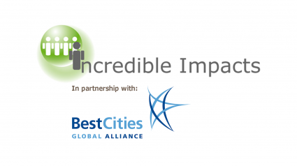 Incredible Impacts Logo ICCA BestCities