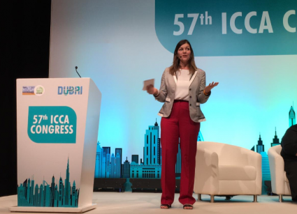 Jane Cunningham attends ICCA Congress 2018