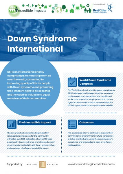 Down Syndrome International Incredible Impacts Case Study