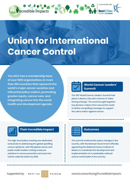 Union for International Cancer Control Incredible Impacts Case Study
